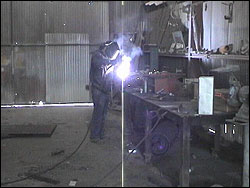 Maintenance Welder Machine Person